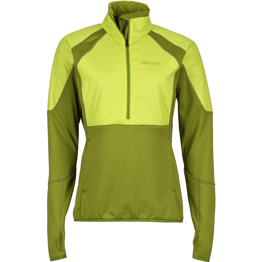 Marmot Furiosa 1/2-Zip Fleece Women's Jacket (Cilantro/Sprig)