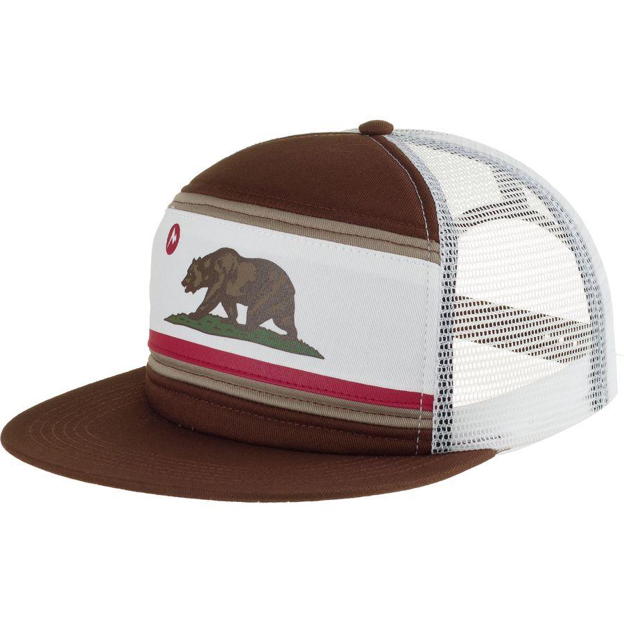 f4a9c4d5155 Marmot - Roots Trucker Hat - California Bear