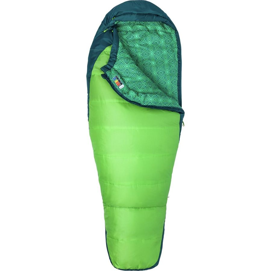 Marmot Trestles 30 Sleeping Bag Degree Synthetic Women S Greenery Deep