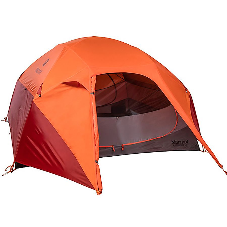 Marmot - Limelight Tent 4-Person 3-Season - Cinder/Rusted Orange  sc 1 st  Backcountry.com : marmont tent - memphite.com