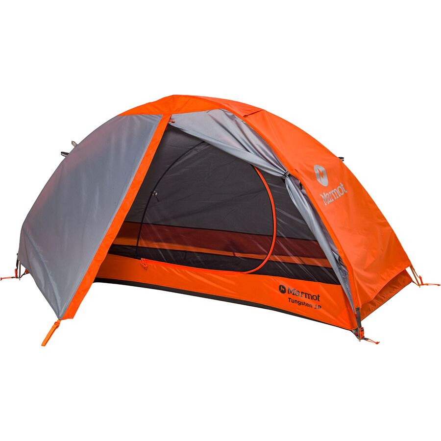 Marmot - Tungsten Tent 1-Person 3-Season - Blaze/Steel  sc 1 st  Backcountry.com : marmot 1p tent - afamca.org