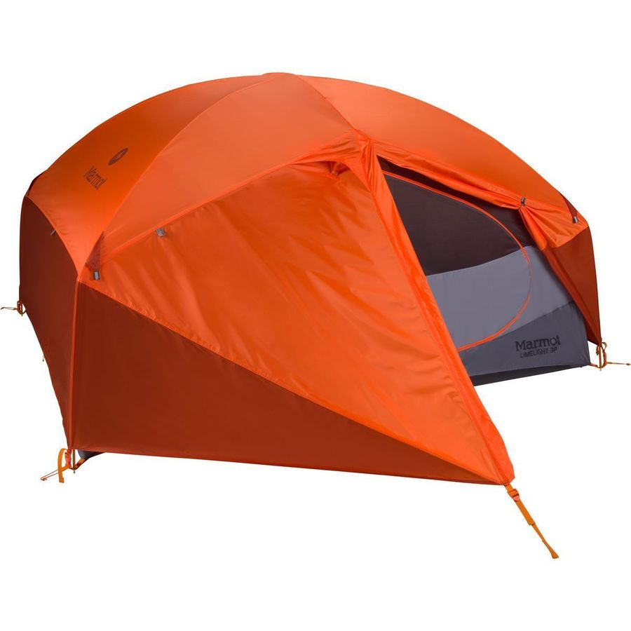 Marmot - Limelight 3P Tent 3-Person 3-Season - Cinder/Rusted  sc 1 st  Backcountry.com : marmot 2 person tent - memphite.com