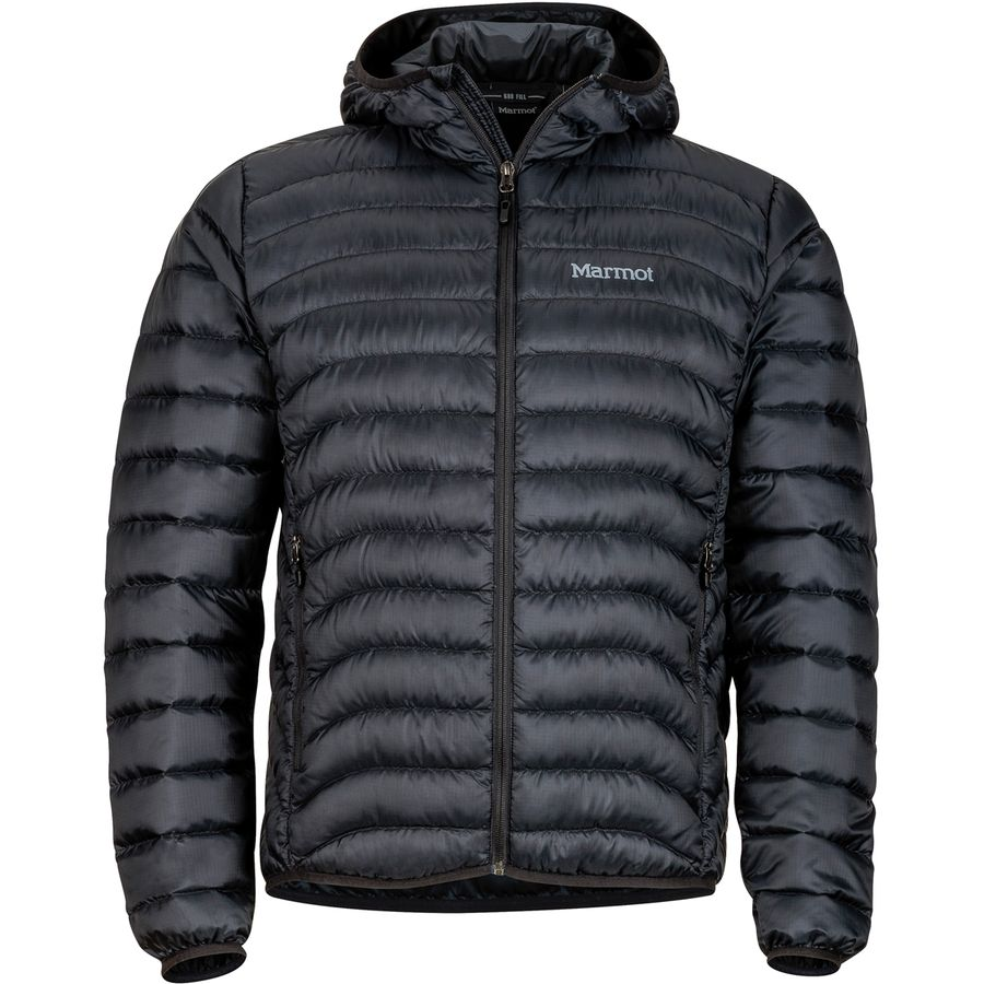 Marmot - Tullus Hooded Down Jacket - Men s - Black 99c244bd0ad9