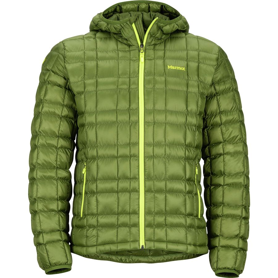 Marmot - Featherless Hooded Jacket - Men's - Tree Green