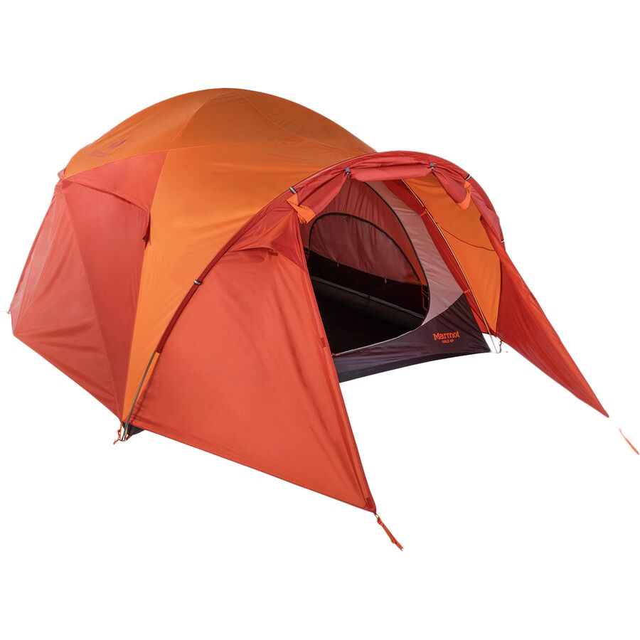 Marmot - Halo 6-Person Tent 6-Person 3-Season - Tangelo  sc 1 st  Backcountry.com & Marmot Halo 6-Person Tent: 6-Person 3-Season | Backcountry.com