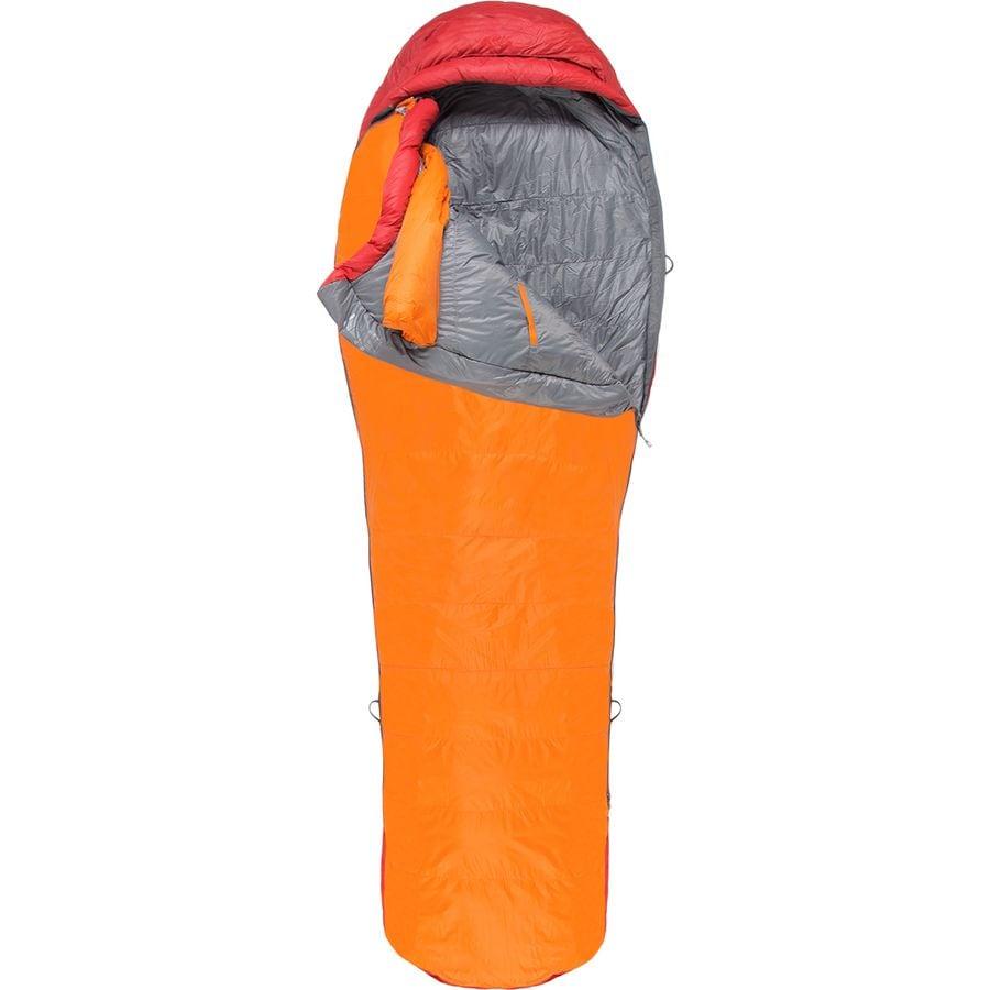 Marmot Never Summer Sleeping Bag 0 Degree Down Tangelo Auburn