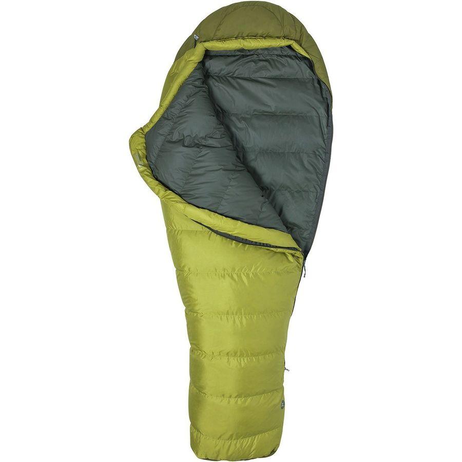 Marmot Radium 30 Sleeping Bag Degree Down Dark Citron Military Green