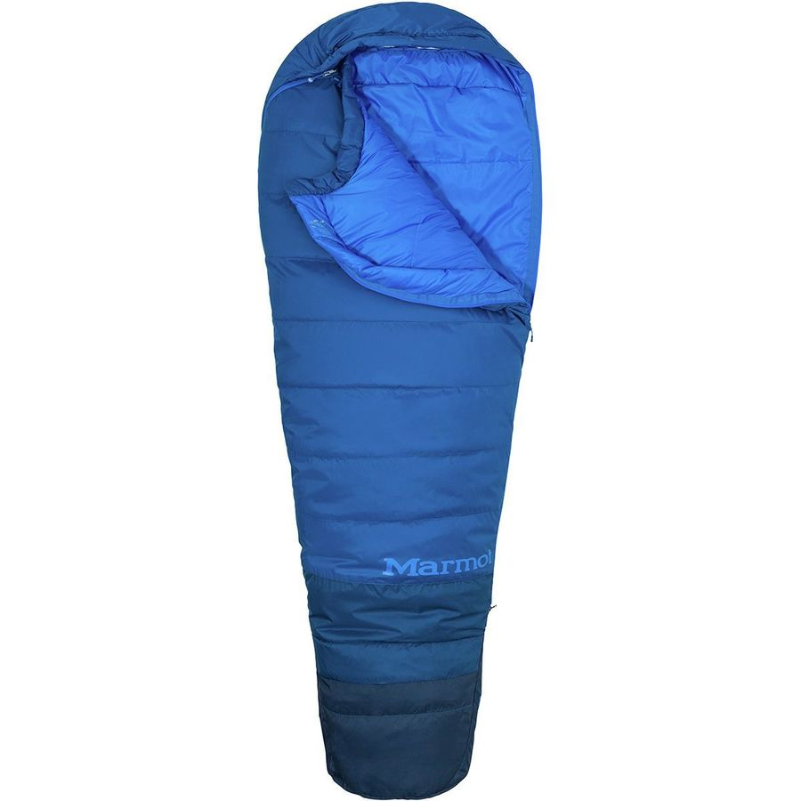 Marmot Trestles 15 Tl Sleeping Bag Degree Synthetic Classic Blue Estate