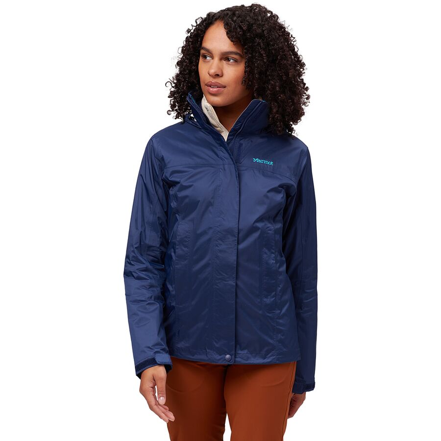 Arctic Navy Marmot Women/'s PreCip Lightweight Waterproof Jacket