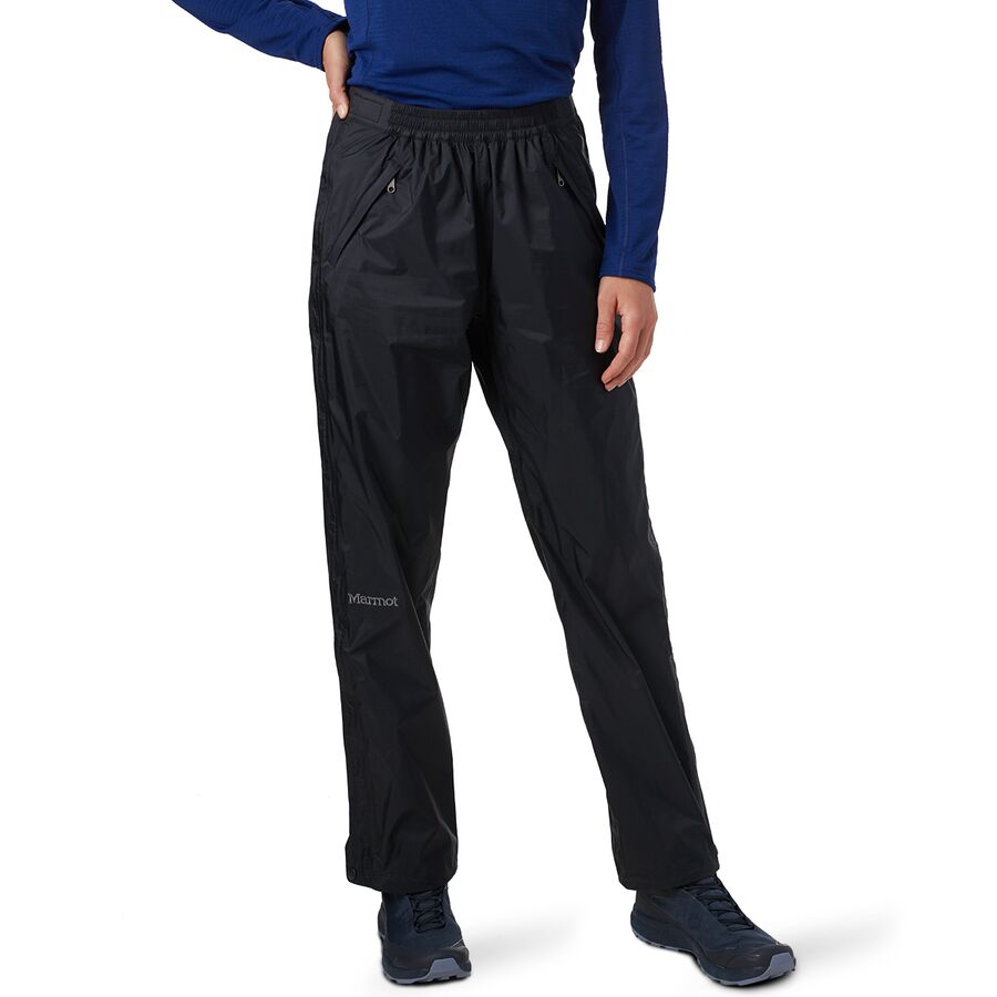 Marmot - Precip Eco Full-Zip Pant - Women s - Black 438426c0b