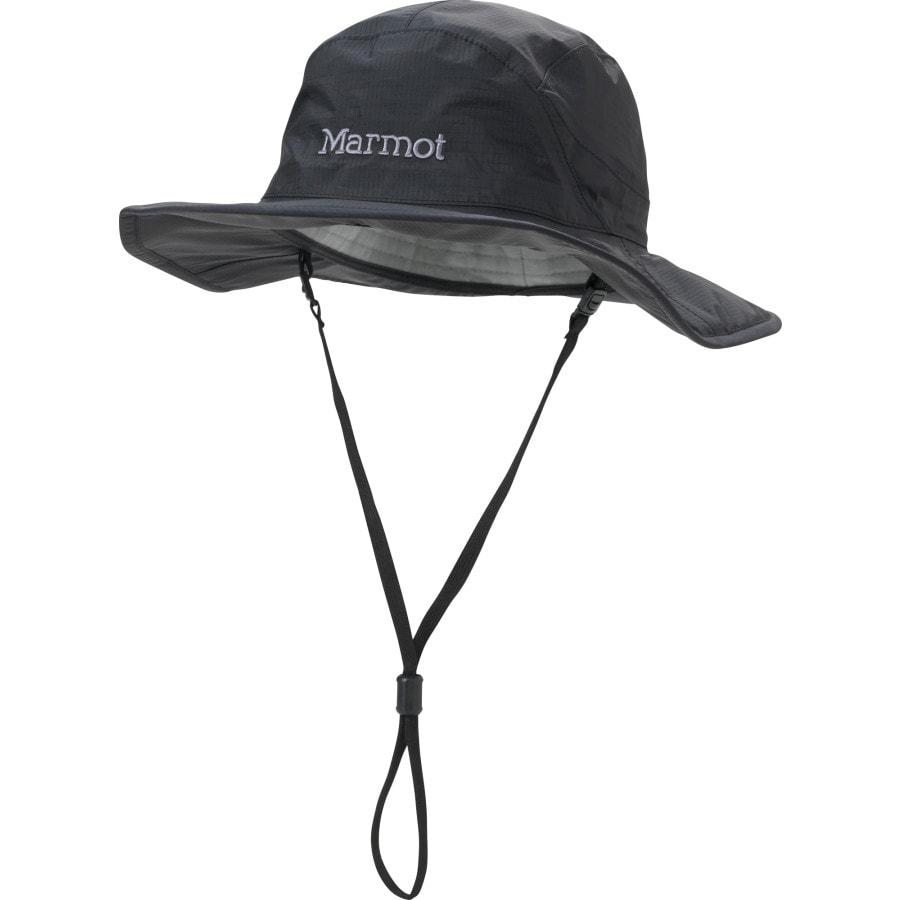 Marmot - PreCip Safari Hat - Men s - Black 3f8d07e35b0