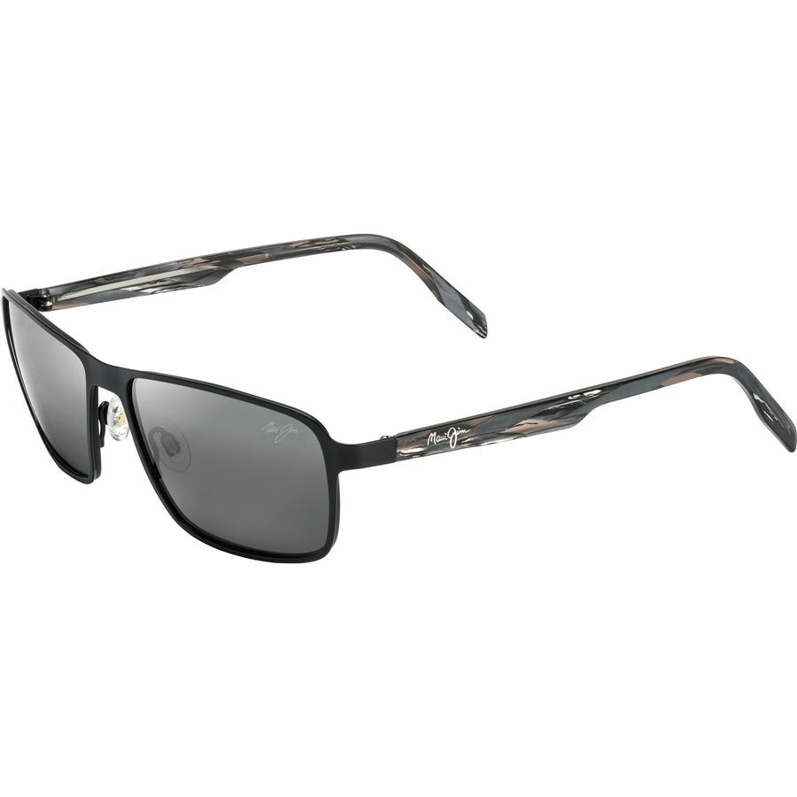47e64b24c3 Maui Jim - Glass Beach Polarized Sunglasses - Matte Black Neutral Grey