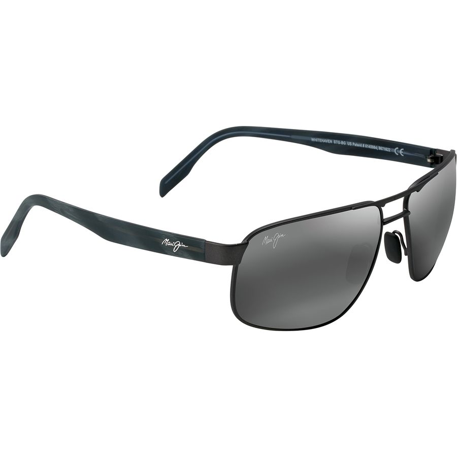 a4fbafdbda Maui Jim - Whitehaven Polarized Sunglasses - Men s - Dark Gunmetal Neutral  Grey