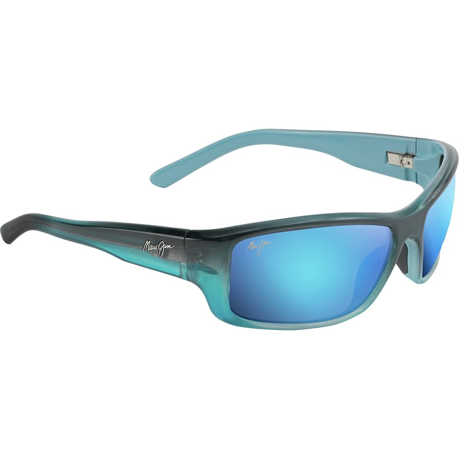 9a9b158d395 Maui Jim - Barrier Reef Polarized Sunglasses - Men's - Blue Hawaii/Blue  With Turquoise