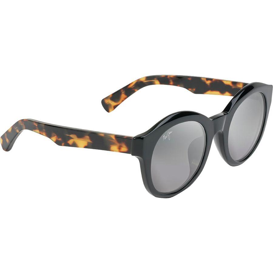 14aa06fe33 Maui Jim - Jasmine Polarized Sunglasses - Women's - Neutral Grey/Black  Gloss/Tokyo