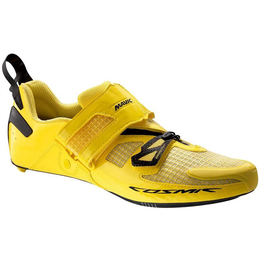 df9faad6c62 Mavic - Cosmic Ultimate Tri Cycling Shoe - Men's - Yellow Mavic/Black