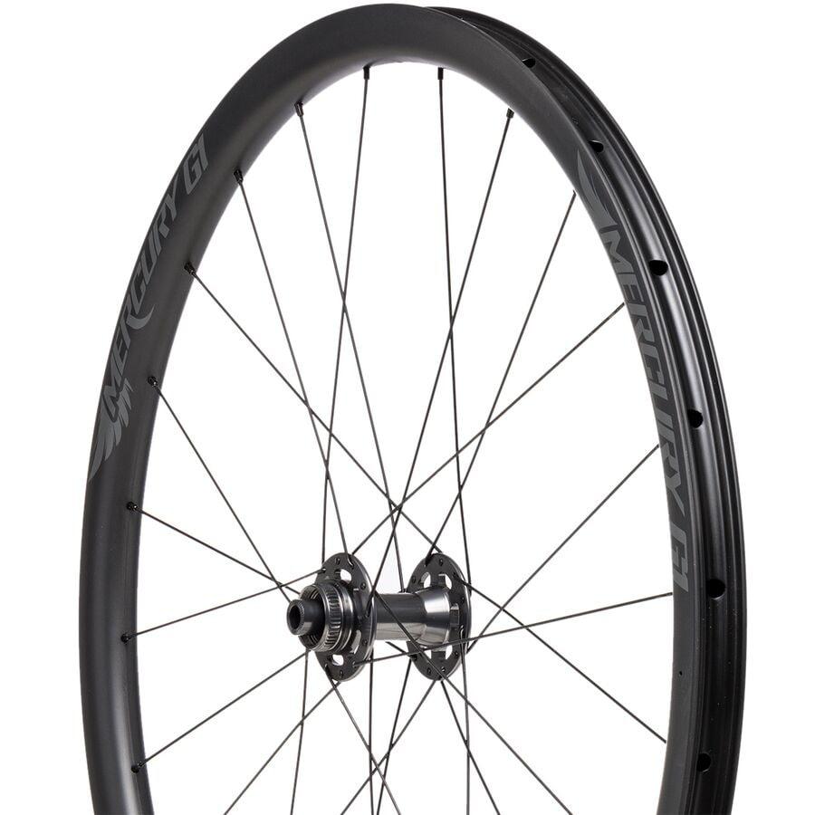 Mercury Wheels - G1 Carbon Disc Wheelset - Tubeless - Centerlock