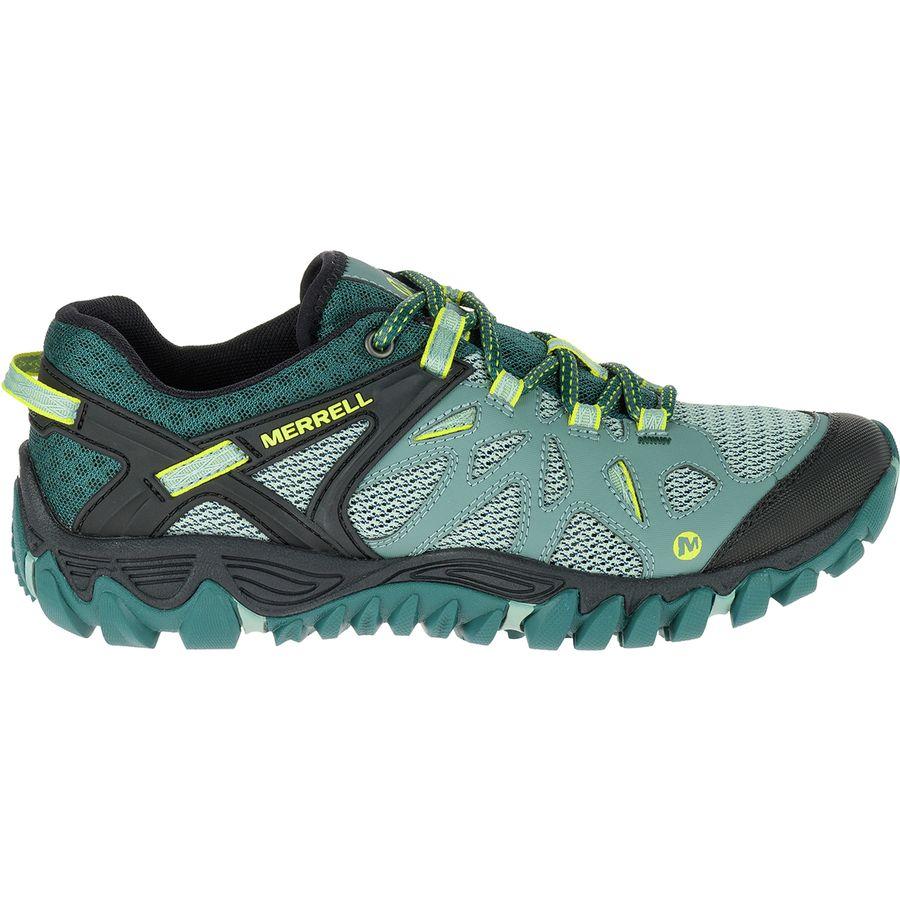 Merrell ALL OUT BLAZE AERO SPORT - Hiking shoes - sea pine 2iRLRZbWZ