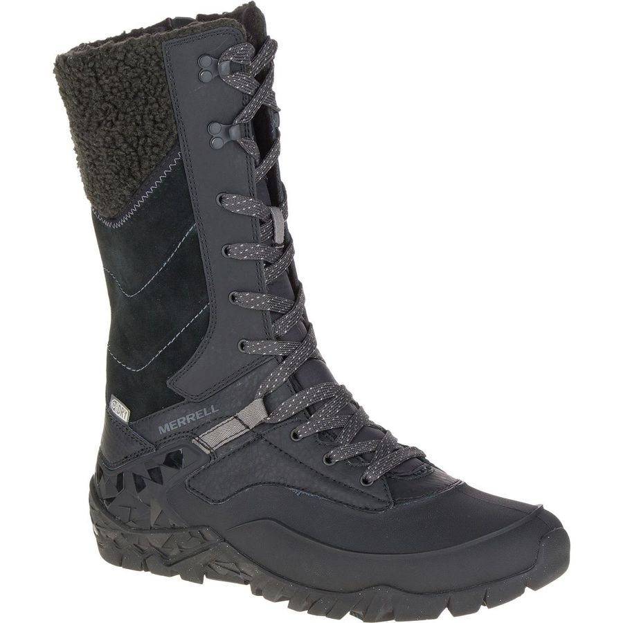 merrell aurora tall ice plus waterproof winter boot women 39 s. Black Bedroom Furniture Sets. Home Design Ideas