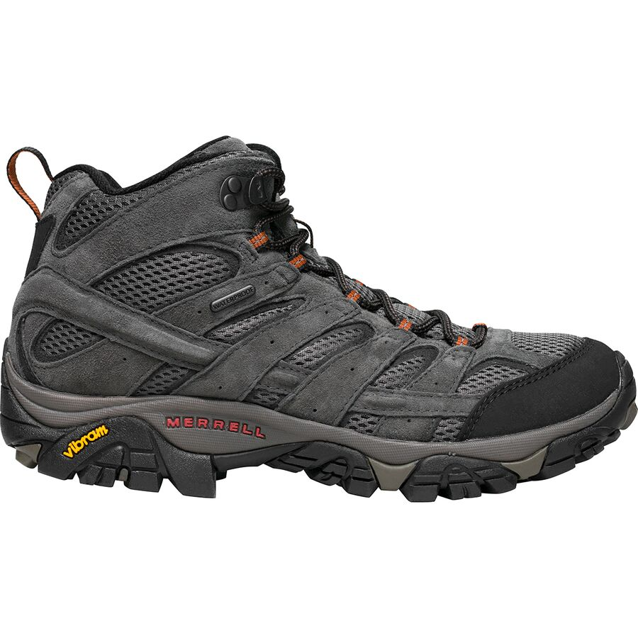 Merrell - Moab 2 Mid Waterproof Hiking Boot - Men's - Beluga