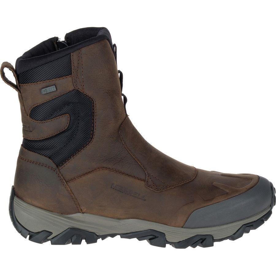 Merrell - Coldpack Ice+ 8in Zip Polar Waterproof Boot - Men's - Copper  Mountain