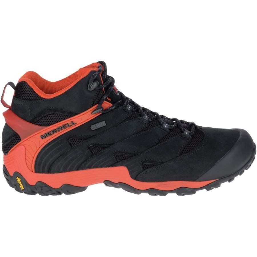 Merrell Chameleon 7 Mid Waterproof Boot - Men's ...