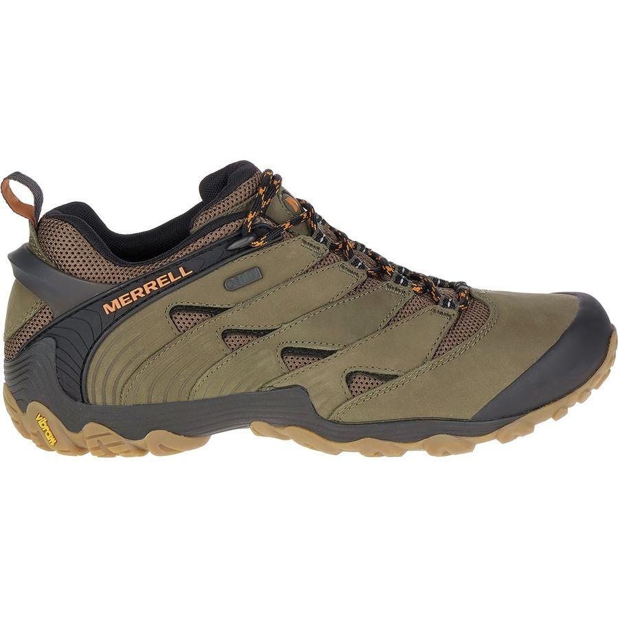 merrell chameleon 7 waterproof hiking shoe  men's