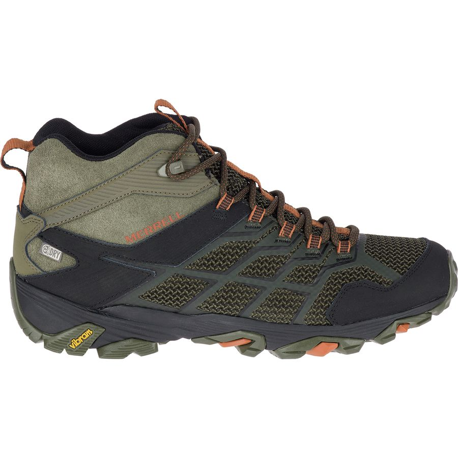 womens merrell moab fst waterproof hiking boots uk