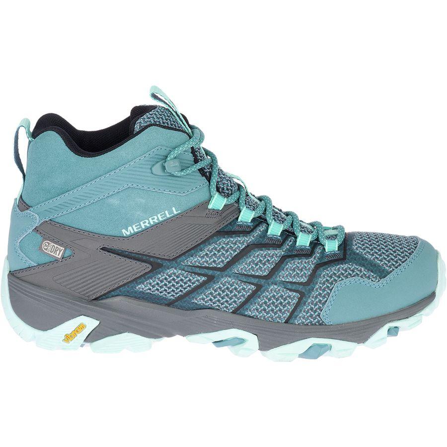 48057766586 Merrell Moab FST 2 Mid Waterproof Hiking Boot - Women's