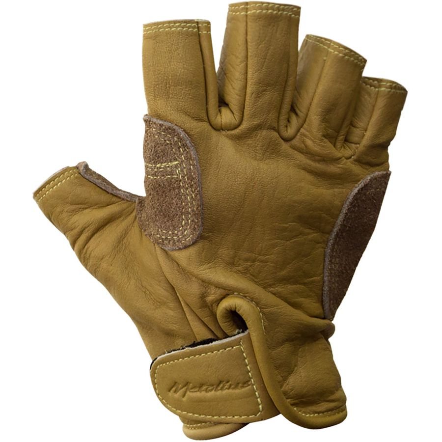 Gloves With Fingertips Out: Metolius Climbing 3/4 Finger Glove