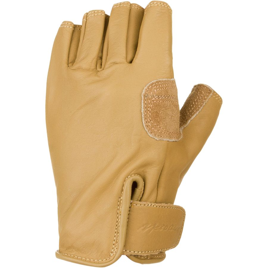 Fingerless gloves climbing - Metolius 3 4 Finger Climbing Glove Natural