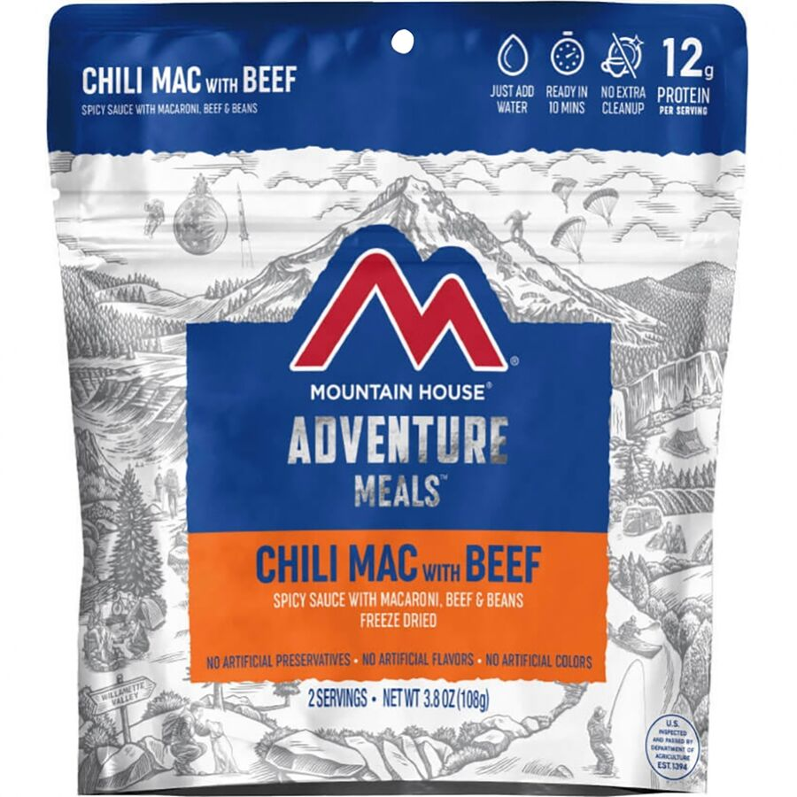Mountain House - Chili Mac With Beef - One Color