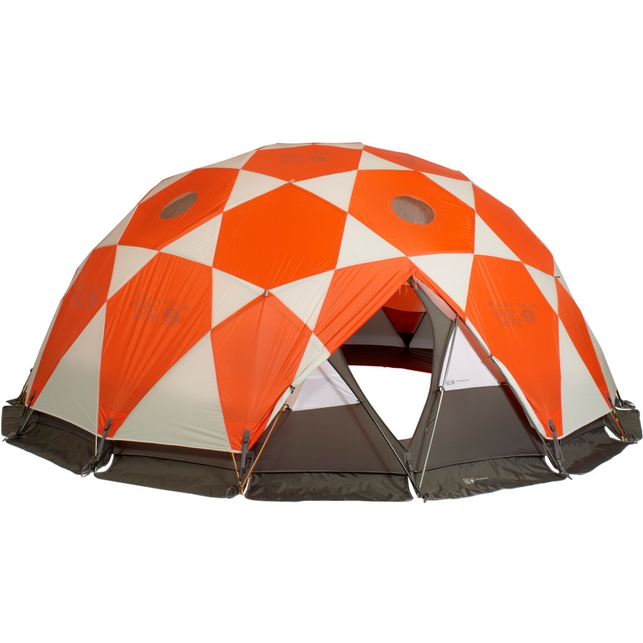 Mountain Hardwear - Stronghold Tent 10-Person 4-Season - State Orange  sc 1 st  Backcountry.com & Mountain Hardwear Stronghold Tent: 10-Person 4-Season ...