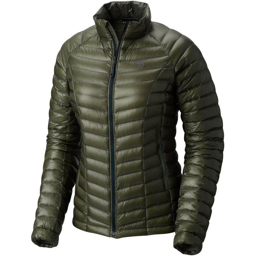 Mountain Hardwear - Ghost Whisperer Down Jacket - Women's - Green Fade