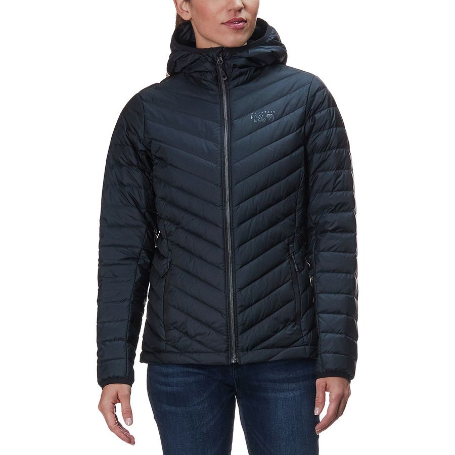 Mountain Hardwear Micro Ratio Hooded Down Jacket - Womens