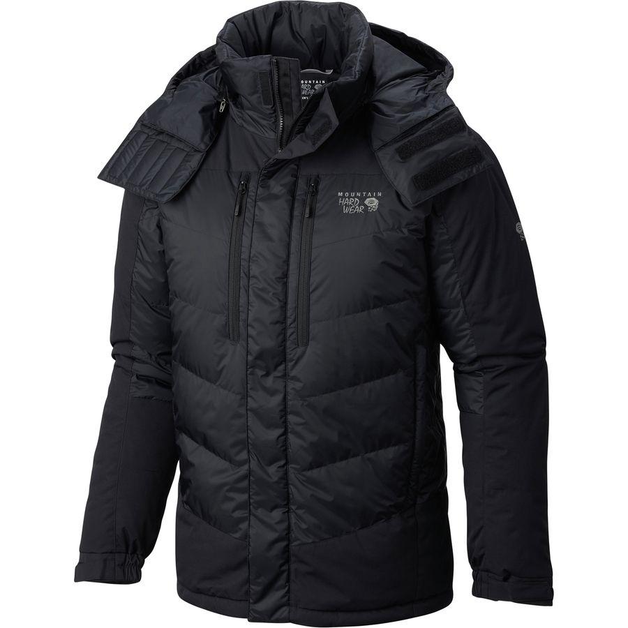 Mens jacket guide - Mountain Hardwear Glacier Guide Down Parka Men S Black