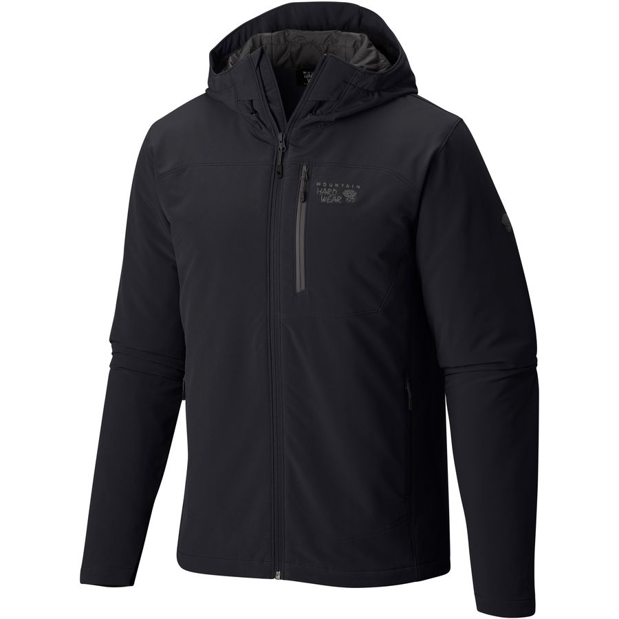 Mountain Hardwear - Superconductor Hooded Insulated Jacket - Men's - Black /Titanium