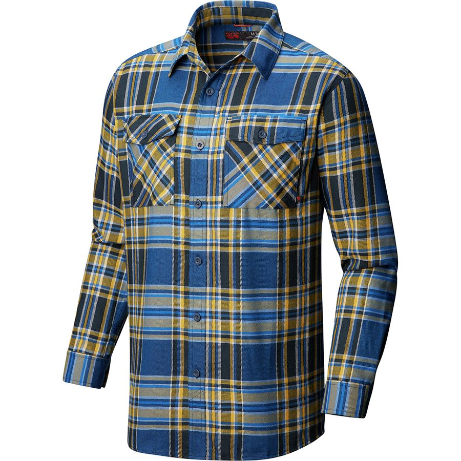 074b60ee6fa4b4 Mountain Hardwear - Trekkin Flannel Shirt - Men's - Altitude Blue