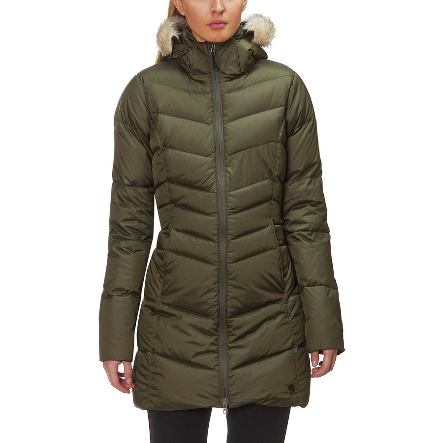 b7dfabce0e7cd7 Mountain Hardwear - Downtown Down Coat - Women s - Peatmoss