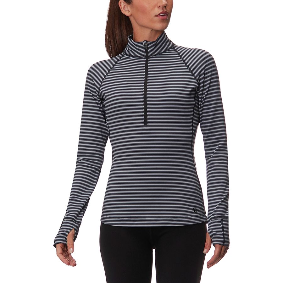 Mountain Hardwear Butterlicious Stripe 1/2-Zip Shirt - Womens
