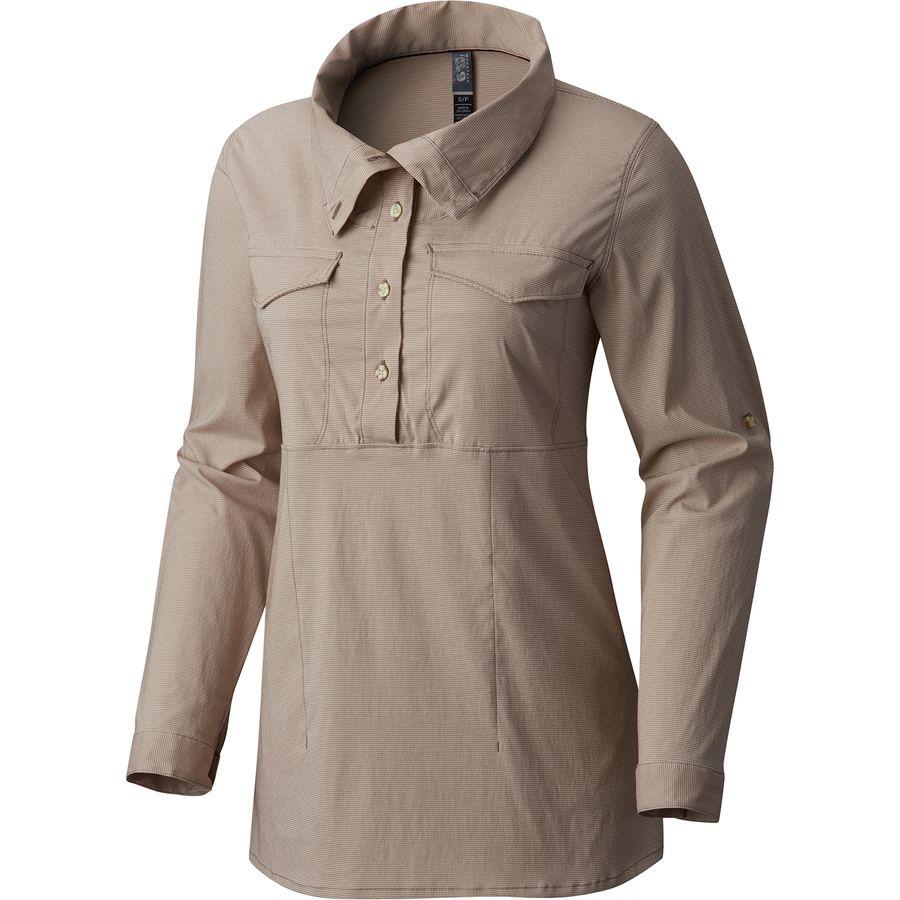 Mountain Hardwear Citypass Popover Shirt - Womens