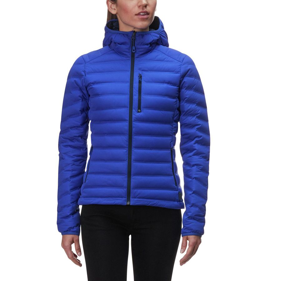 81b69b27b26 Mountain Hardwear - Stretchdown Hooded Down Jacket - Women s - Blue Print