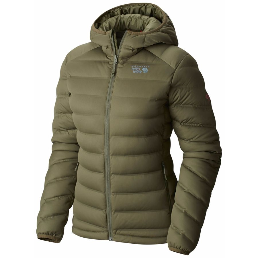 Mountain Hardwear Stretchdown Hooded Down Jacket - Women's - Up to ...