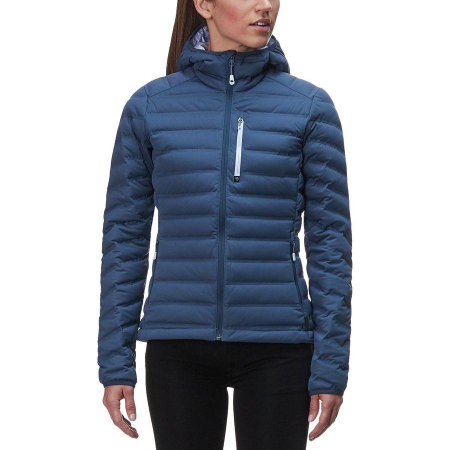 e8c3fe5e25b Mountain Hardwear Stretchdown Hooded Down Jacket - Women's | Steep & Cheap