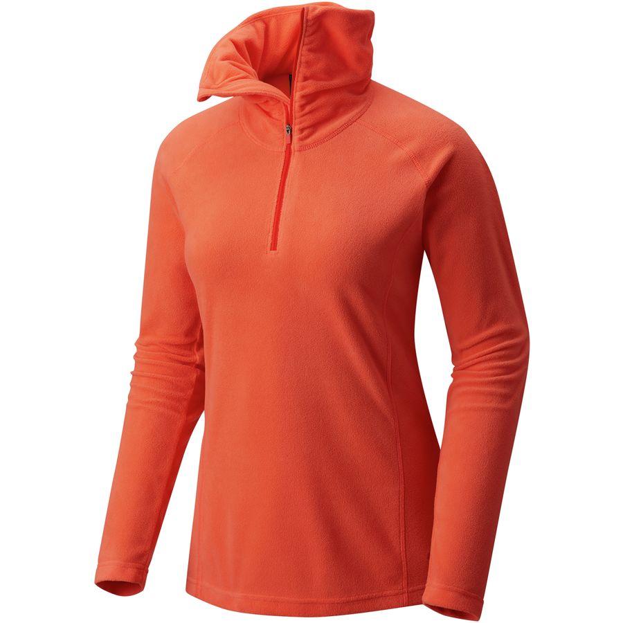 Mountain Hardwear Microchill Lite 1/2-Zip Shirt- Womens