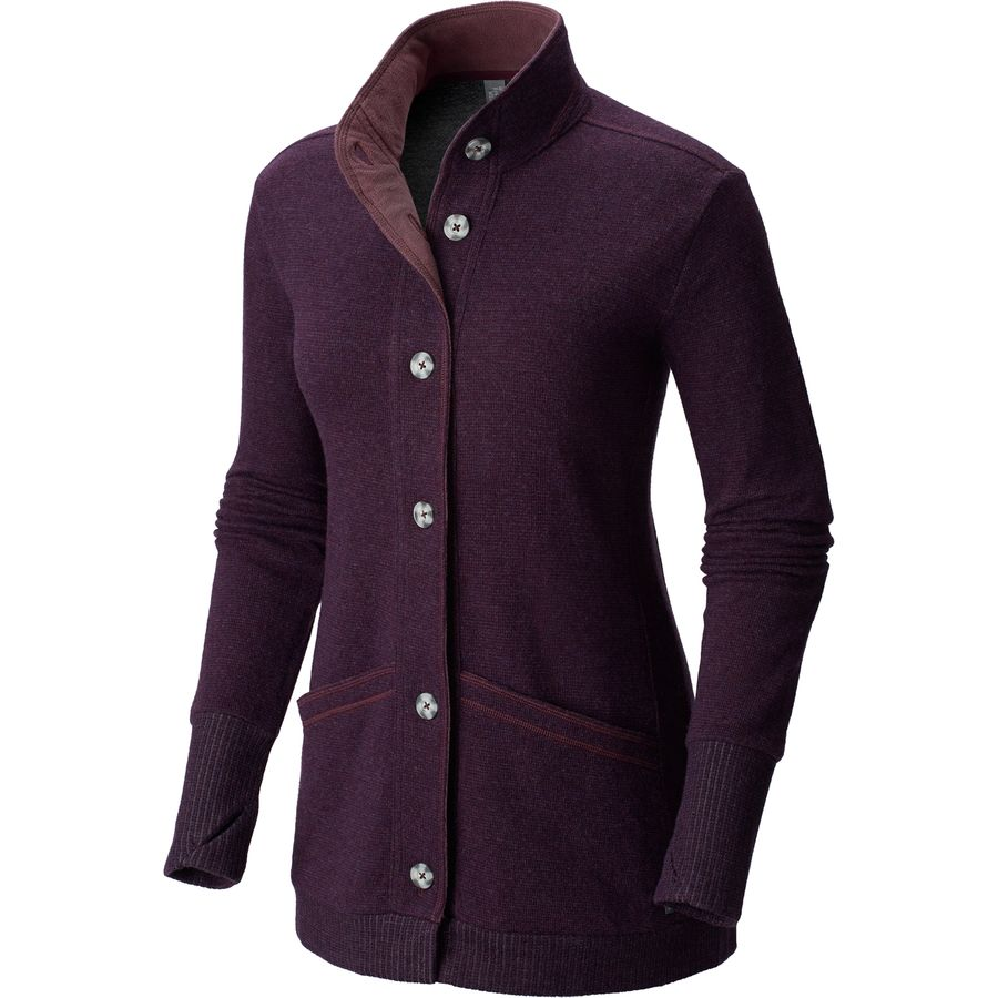 Mountain Hardwear Sarafin Long-Sleeve Cardigan - Womens