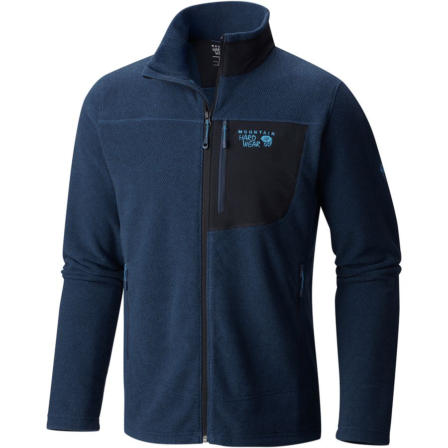 Mountain Hardwear Toasty Twill Fleece Jacket - Mens