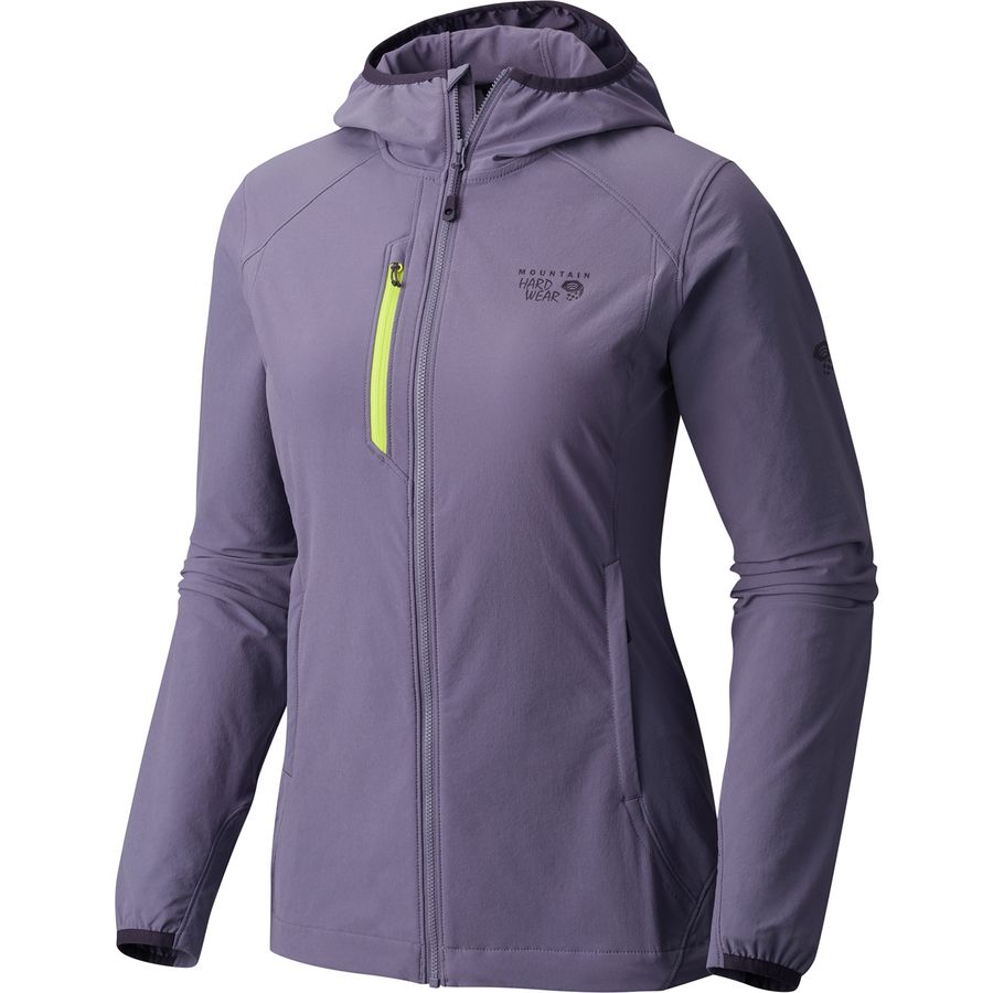 Mountain Hardwear Super Chockstone Hooded Softshell Jacket - Womens