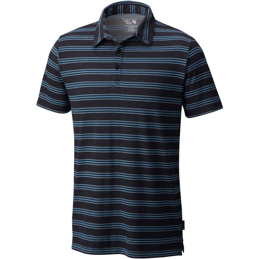 Mountain Hardwear ADL Striped Polo Shirt - Mens