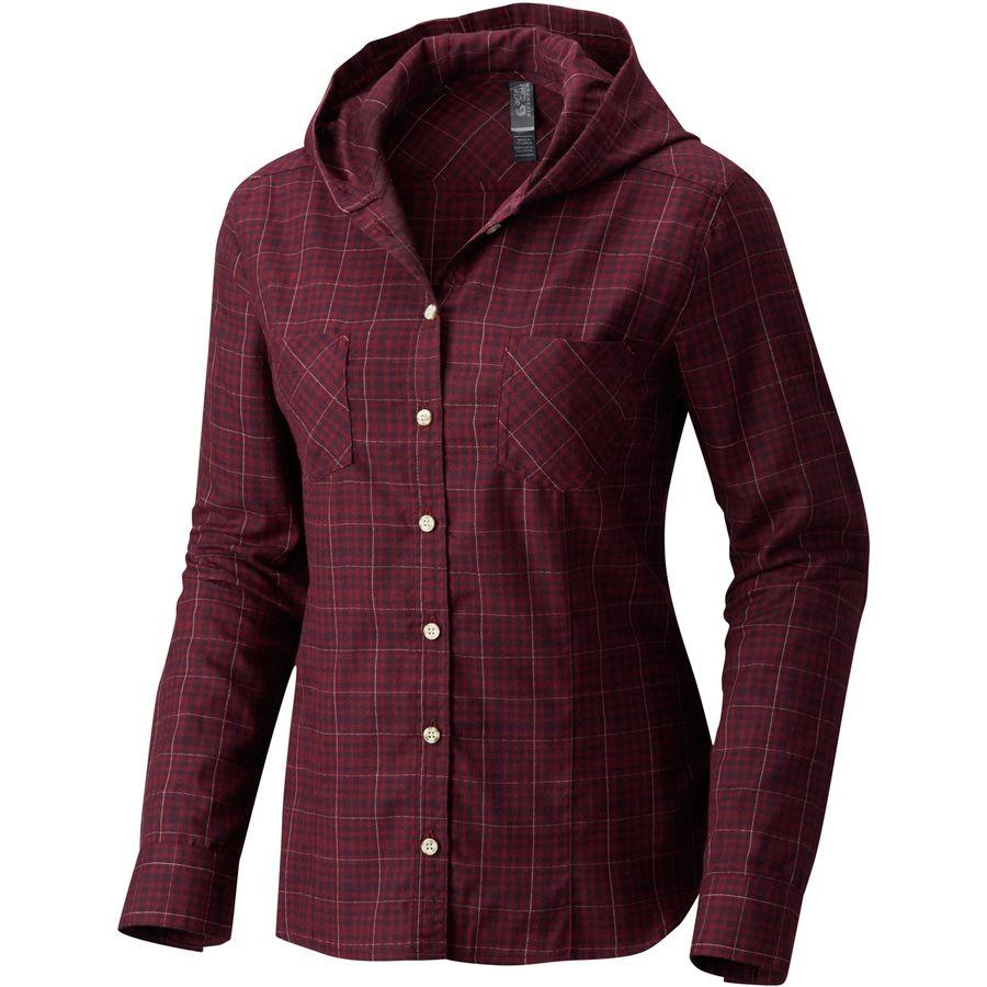 Mountain Hardwear Acadia Stretch Hooded Shirt - Womens